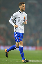 12th September 2017 - UEFA Champions League - Group A - Manchester United v FC Basel - Ricky van Wolfswinkel of Basel - Photo: Simon Stacpoole / Offside.