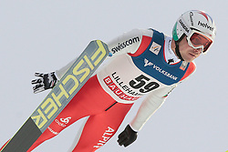 25.11.2012, Lysgards Schanze, Lillehammer, NOR, FIS Weltcup, Ski Sprung, Herren, im Bild Ammann Simon (SUI) during the mens competition of FIS Ski Jumping Worldcup at the Lysgardsbakkene Ski Jumping Arena, Lillehammer, Norway on 2012/11/25. EXPA Pictures © 2012, EXPA/ Federico Modica