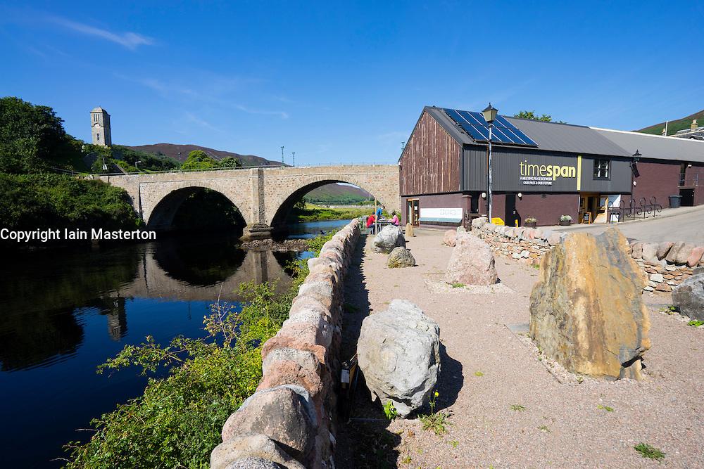Timespan visitor Centre at Helmsdale, Sutherland, Scotland, United Kingdom