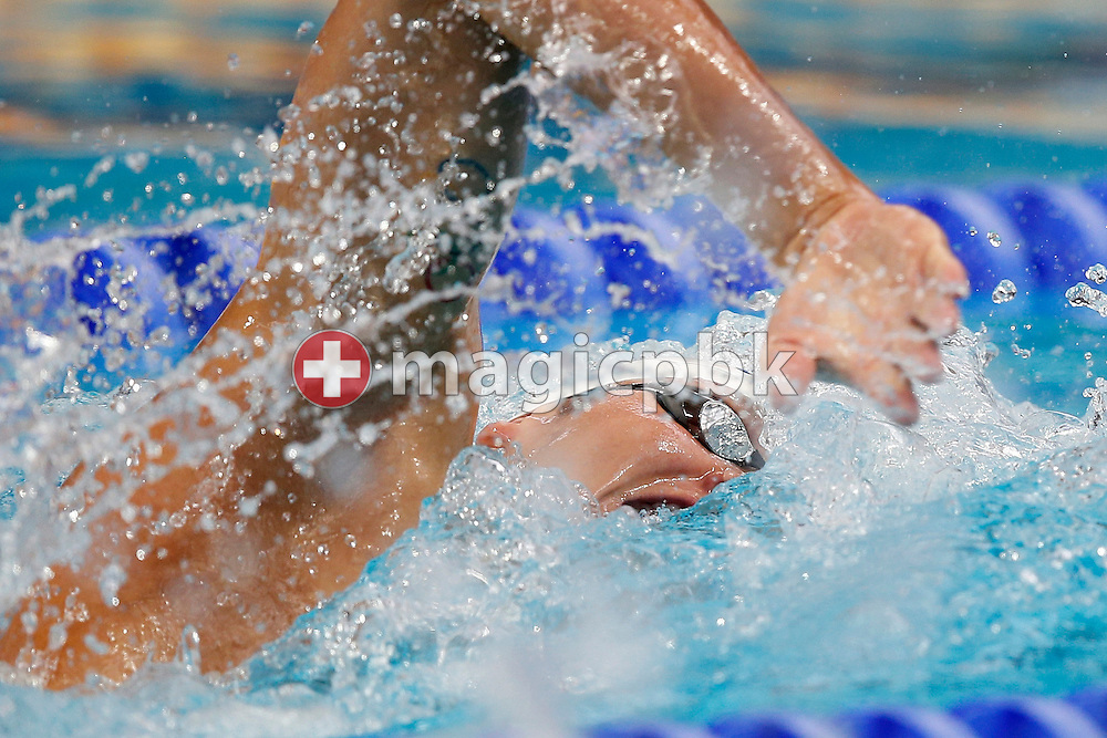 Lander HENDRICKX of Belgium competes in the men's 400m Freestyle Heats during the 16th FINA World Swimming Championships held at the Kazan arena in Kazan, Russia, Sunday, Aug. 2, 2015. (Photo by Patrick B. Kraemer / MAGICPBK)