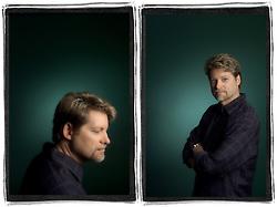 Steve Sandstrom portrait. Sandstrom Partners is a graphic design firm in Portland, Oregon