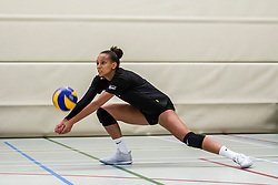 10-09-2018 NED: Training PDK Huizen season 2018-2019, Huizen<br /> Training for the players of Top Division club vv Huizen women season 2018-2019 / Carla Mulli #13 of PDK Huizen