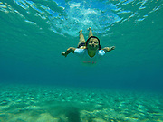 Underwater Editorial Photography Work in Lahaina, Maui