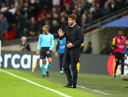 September 13, 2017 - London, England, United Kingdom - Tottenham Hotspur manager Mauricio Pochettino .during Champion League Group H match between Tottenham Hotspur  against Borussia Dortmund at Wembley stadium, London, UK on 13 Sepember  2017. Tottenham won the game 3-1. (Credit Image: © Kieran Galvin/NurPhoto via ZUMA Press)