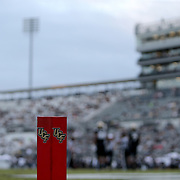ORLANDO, FL - NOVEMBER 21: The stadium lights power down late in the second half of the Cincinnati Bearcats and Central Florida Knights NCAA football game at Bounce House-FBC Mortgage Field on November 21, 2020 in Orlando, Florida. (Photo by Alex Menendez/Getty Images) *** Local Caption ***