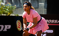 Serena Williams of the United States in action during the second round of the 2021 Internazionali BNL d'Italia, WTA 1000 tennis tournament on May 12, 2021 at Foro Italico in Rome, Italy - Photo Rob Prange / Spain ProSportsImages / DPPI / ProSportsImages / DPPI