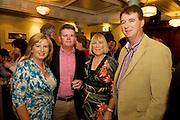 """19/7/2011. Tina and Brendan McDermott, Ulster Bank, with John and Anne Tully, Seamount in McSwiggans for the pre show reception of Propellors """"Comedy of Errors"""" by Shakspeare in the Galway Arts Festival, sponsored by Ulster Bank. Photo:Andrew Downes"""