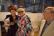 LADY SANDRA BATES; JEAN PICTON, Lady  Sandra Bates and Jason Bradbury host 'Lust' a mixed exhibition. La Galleria. Pall Mall.  London 3 September 2013.
