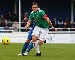 October 7, 2017 - Billericay, England, United Kingdom - Arthur Lee of Hendon FC .during Bostik League Premier Division match between Billericay Town against Hendon FC at New Lodge Ground, Billericay on 07 Oct 2017  (Credit Image: © Kieran Galvin/NurPhoto via ZUMA Press)