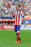 Atletico de Madrid´s Fernando Torres during 2014-15 La Liga match between Atletico de Madrid and Athletic Club at Vicente Calderon stadium in Madrid, Spain. May 02, 2015. (ALTERPHOTOS/Luis Fernandez)