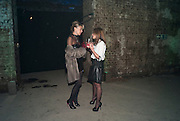 ASSIA WEBSTER; MEL BLATT, Stephen Webster: 7 Deadly Sins And No Regrets - launch party, Old Vic Tunnels (formerly Leake Street Tunnel), Waterloo, London SE1, 8 December 2010. DO NOT ARCHIVE-© Copyright Photograph by Dafydd Jones. 248 Clapham Rd. London SW9 0PZ. Tel 0207 820 0771. www.dafjones.com.