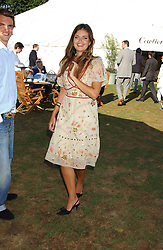 LADY NATASHA RUFUS-ISAACS at the 2005 Cartier International Polo between England & Australia held at Guards Polo Club, Smith's Lawn, Windsor Great Park, Berkshire on 24th July 2005.<br /><br />NON EXCLUSIVE - WORLD RIGHTS