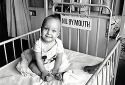 Children's ward, Queen's Medical Centre hospital, Nottingham March 1989 UK