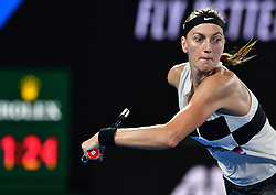 January 24, 2019 - Melbourne, Australia - Australian Open - Petra Kvitova - Republique Tcheque (Credit Image: © Panoramic via ZUMA Press)