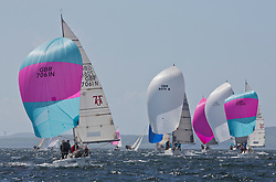 Pelle P Kip Regatta 2017 run by Royal Western Yacht Club at Kip Marina on the Clyde. <br /> <br /> 7061, Rammie, M Fleming/D Smith, ASYC<br /> <br /> Image Credit Marc Turner