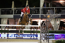 Bruynseels Niels (BEL) - Pommeau du Heup<br /> Final competiton<br /> Furusiyya FEI Nations Cup™ Final - Barcelona 2014<br /> © Dirk Caremans<br /> 11/10/14