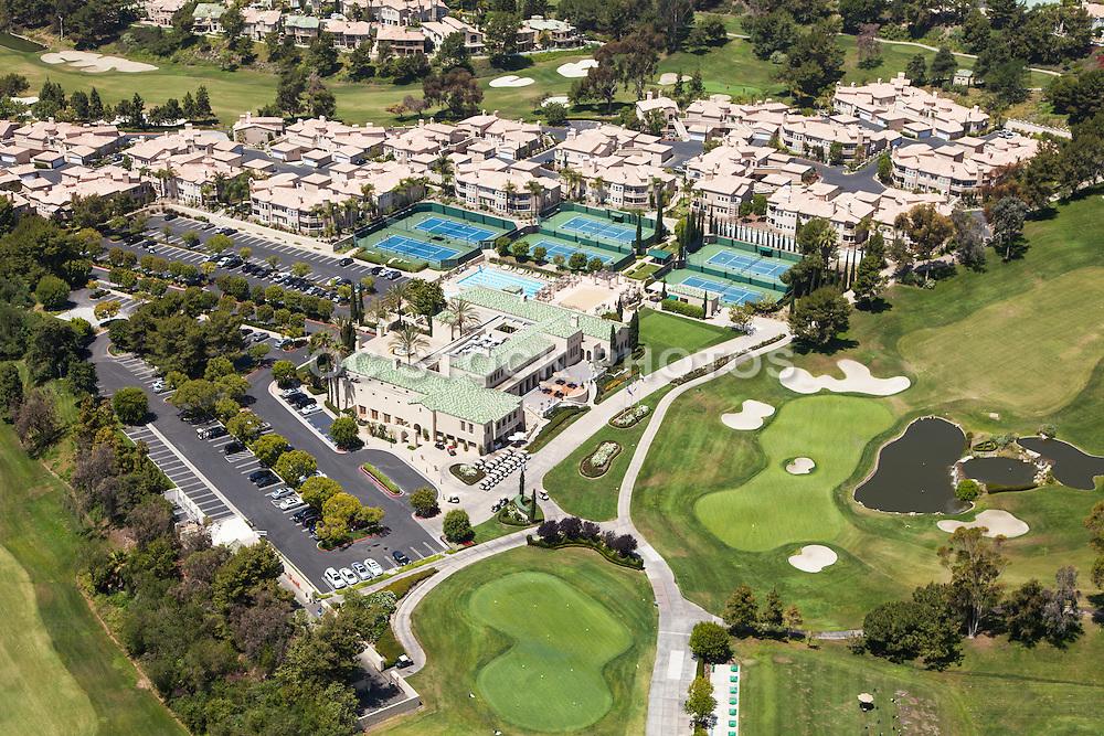 Marbella Country Club in San Juan Capistrano Aerial Stock Photo