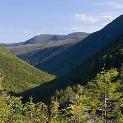 Crawford Notch from Elephants Head in New Hampshire USA