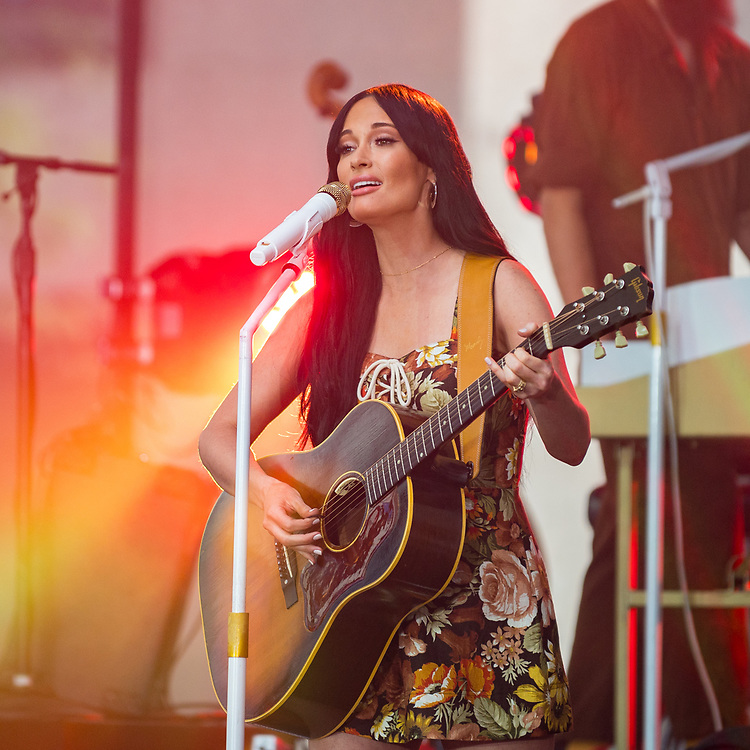 Kacey Musgraves performs on NBC's Today Show in New York City