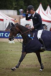 Bruynseels Niels, (BEL), Cas de Liberte <br /> Winner of the Grand Prix Meritt Capital<br /> Jumping Kapellen 2015<br /> © Hippo Foto - Dirk Caremans<br /> 12/07/15