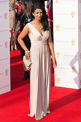 © Licensed to London News Pictures. 08/05/2016. London, UK. KONNIE HUQ attends the BAFTA Television Awards 2016. Photo credit: Ray Tang/LNP