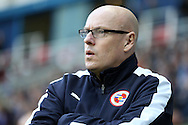 Brian McDermott, the Reading manager looks on from the dugout . Skybet football league championship match, Reading  v Blackburn Rovers at The Madejski Stadium  in Reading, Berkshire on Sunday 20th December 2015.<br /> pic by John Patrick Fletcher, Andrew Orchard sports photography.