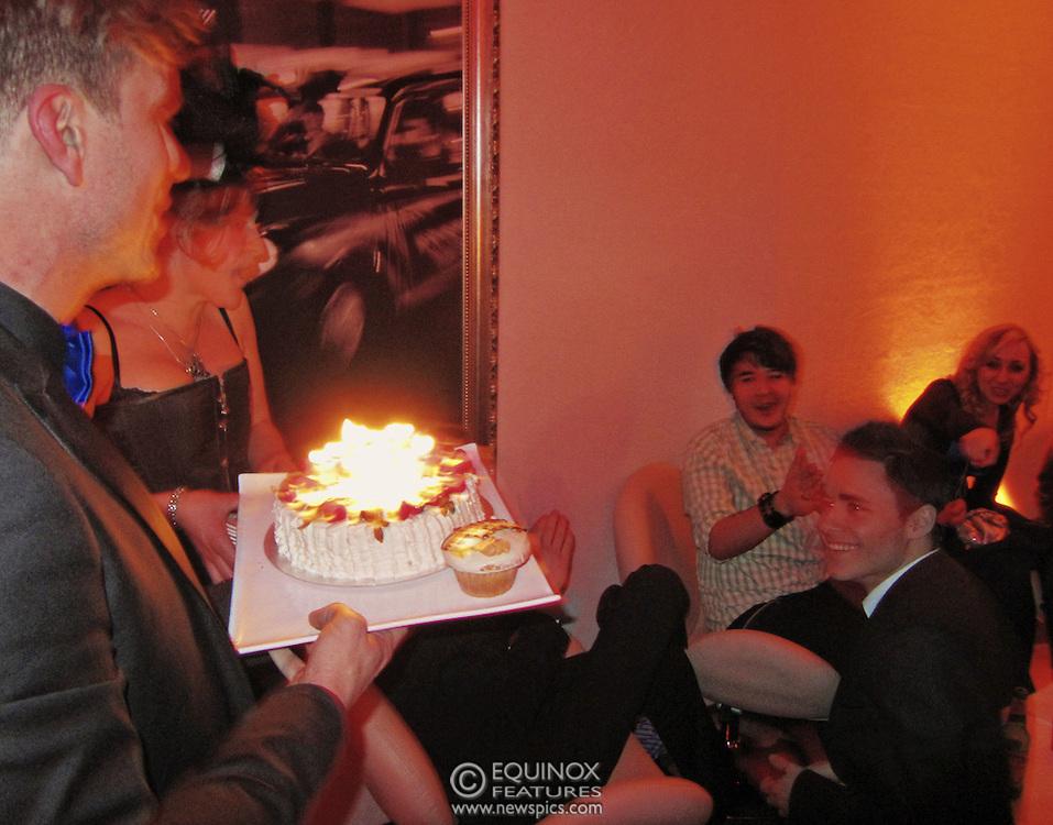 London, United Kingdom - 30 January 2011.Samuel Garcia Guanche's 23rd birthday party at the Roof Gardens Kensington, Kensington, London, England, UK..Copyright: ©2011 Equinox Licensing Ltd. +448700 780000.Contact: Equinox Features.Date Taken: 20110130.Time Taken: 013800+0000.www.newspics.com