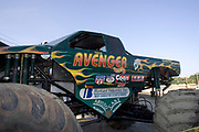 MONSTER TRUCK_Avenger prior to the Monster Truck Challenge at the Orange County (NY) Fair Speedway.