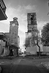 Campanile della chiesa dell'Immacolata, nel centro storico di Racale (LE)