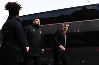 Football - 2018 / 2019 Premier League - Fulham vs. Manchester United<br /> <br /> Manchester United caretaker manager Ole Gunnar Solskjaer arrives at Craven Cottage.<br /> <br /> COLORSPORT/ASHLEY WESTERN