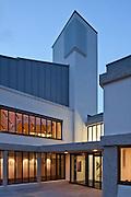 wolfson college. oxford university. bgs architects. education.