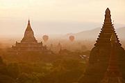 Shwesandaw pagoda at the ancient city Bagan, Myanmar