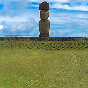 The Tahai Ceremonial Complex is an archaeological site on Rapa Nui in Chilean Polynesia.