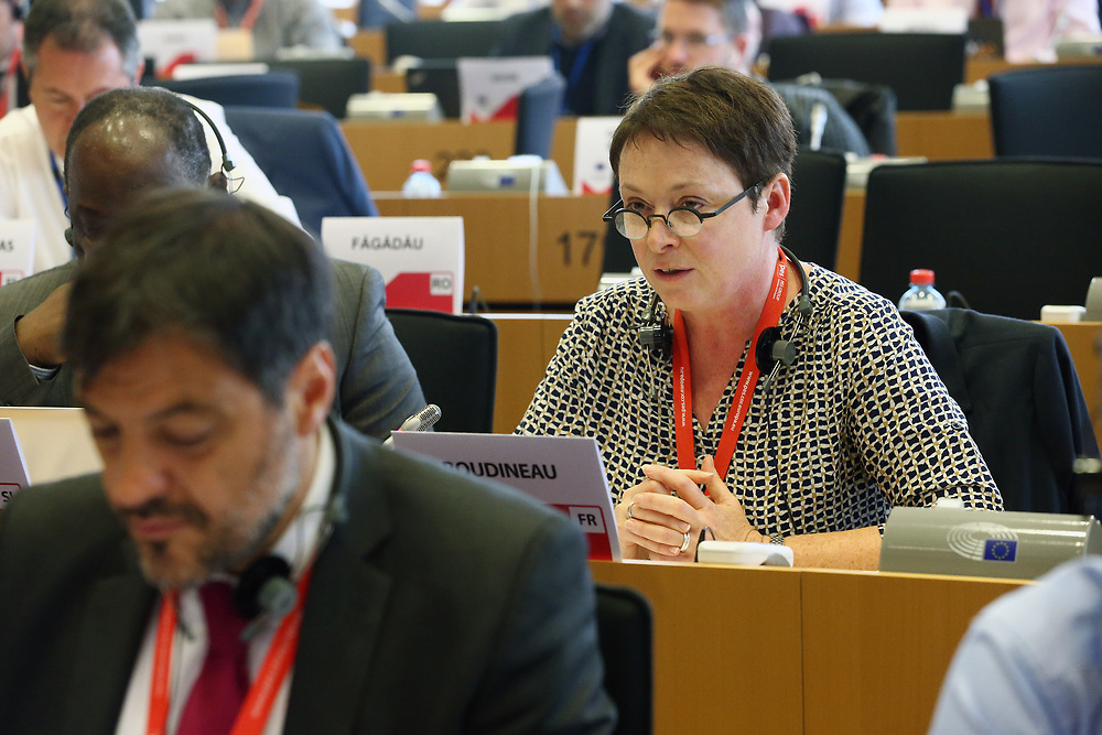 12 May 2017, 123rd Plenary Session of the European Committee of the Regions <br /> Belgium - Brussels - May 2017 <br /> <br /> Mrs BOUDINEAU Isabelle, Vice-présidente du Conseil régional Aquitaine-Poitou-Charente-Limousin, France<br /> <br /> © European Union / Patrick Mascart