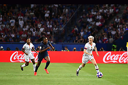 June 28, 2019 - Paris, ile de france, France - Megan RAPINOE (USA) in action during the second period of the quarter-final between FRANCE vs USA in the 2019 women's football World cup at Parc des Princes in Paris, on the 28 June 2019. (Credit Image: © Julien Mattia/NurPhoto via ZUMA Press)