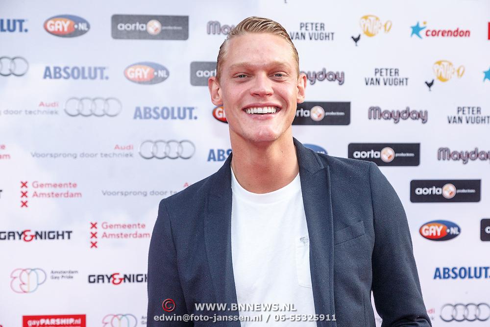 NLD/Amsterdam/20150629 - Uitreiking Rainbow Awards 2015, Ferry Doedens