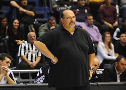 Aleksandar Dzikic, head coach of Partizan during basketball match between KK Partizan Beograd and KK Union Olimpija Ljubljana in Round #5 of ABA League 2016/17, on October 16, 2016 in Beograd, Serbia. Photo by Nebojsa Parausic / Sportida