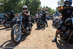 Heading home from the Born Free Motorcycle Show (BF11) at Oak Canyon Ranch, Silverado  CA, USA. Saturday, June 22, 2019. Photography ©2019 Michael Lichter.