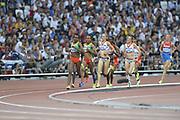 Olympic Stadium, Stratford, London, United Kingdom<br /> <br /> Description:<br /> <br /> 2012 London Olympic, Athletics, <br /> . <br /> <br /> 20:18:05  Friday  10/08/2012 [Mandatory Credit: Peter Spurrier/Intersport Images]
