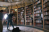 Thomas Jefferson's book collection at the Library of Congress<br />Photo by Dennis Brack