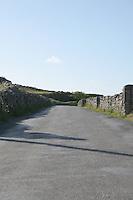 Road to Kilronan on the Aran Islands County Galway Ireland