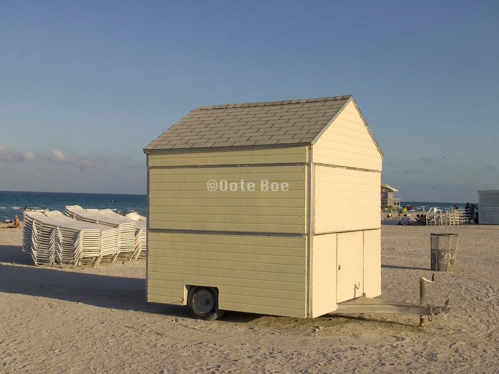 A little sales cart Miami Beach USA