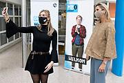 UTRECHT, 19-11-2020, MBO Utrecht<br /> <br /> Werkbezoek van Koningin Maxima aan MBO Utrecht. Het bezoek stond in het teken van de impact van de coronapandemie op het onderwijs, stages en het welzijn van docenten en studenten.<br /> <br /> Working visit of Queen Maxima to MBO Utrecht. The visit focused on the impact of the corona pandemic on education, internships and the well-being of teachers and students.