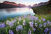 Lake Sherburne Glacier National Park