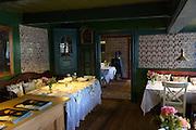 Sonderho Kro Hotel and Restaurant with quaint traditional style furniture on Fano Island in South Jutland, Denmark