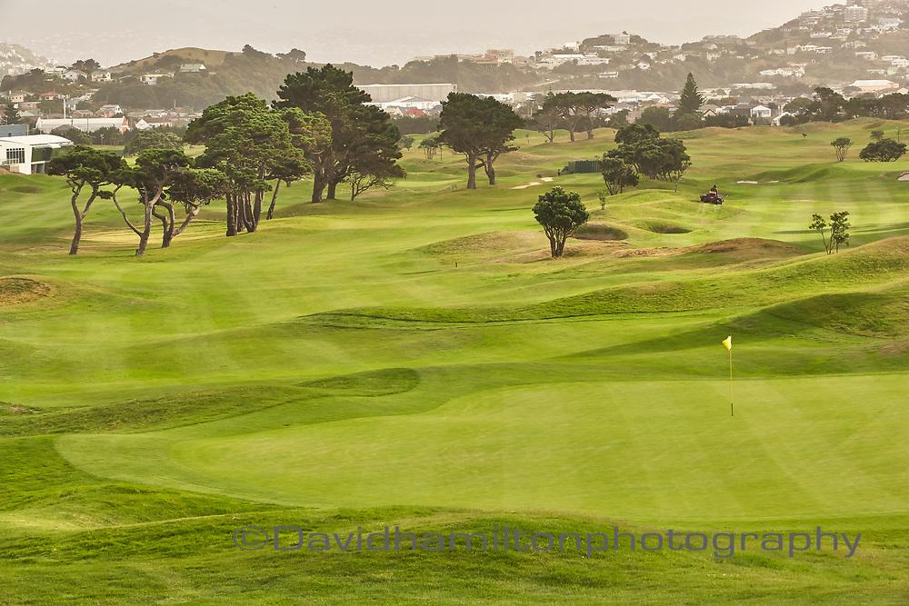 Mirimar Golf Course, Wellington New Zealand