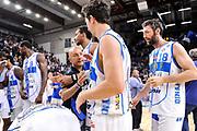 DESCRIZIONE : Campionato 2014/15 Dinamo Banco di Sardegna Sassari - Dolomiti Energia Aquila Trento Playoff Quarti di Finale Gara4<br /> GIOCATORE : Stefano Sardara Giacomo Devecchi<br /> CATEGORIA : Fair Play Ritratto Esultanza Postgame<br /> SQUADRA : Dinamo Banco di Sardegna Sassari<br /> EVENTO : LegaBasket Serie A Beko 2014/2015 Playoff Quarti di Finale Gara4<br /> GARA : Dinamo Banco di Sardegna Sassari - Dolomiti Energia Aquila Trento Gara4<br /> DATA : 24/05/2015<br /> SPORT : Pallacanestro <br /> AUTORE : Agenzia Ciamillo-Castoria/L.Canu