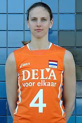 02-06-2010 VOLLEYBAL: NEDERLANDS VROUWEN VOLLEYBAL TEAM: ALMERE<br /> Reportage Nederlands volleybalteam vrouwen / Chaine Staelens<br /> ©2010-WWW.FOTOHOOGENDOORN.NL