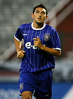 Photo: Maarten Straetemans.<br /> Royal Antwerp v Ipswich Town. Pre Season Friendly. 31/07/2007.<br /> Gary Roberts (Ipswich)