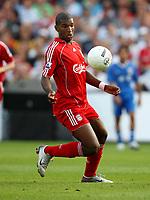 Photo: Maarten Straetemans.<br /> Shanghai Shenhua v Liverpool. Rotterdam Tournament. 03/08/2007.<br /> Ryan Babel (Liverpool)